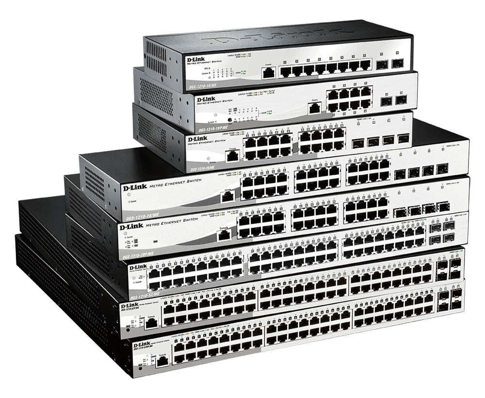 DGS-1210 Series Gigabit Smart Managed Switches